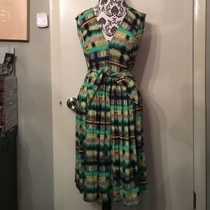Plenty by Tracy Reese abstract knit dress