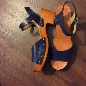 Lucky Brand Hollie Clog Sandals Size 8.5M