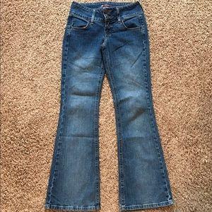 lei Denim - Lei Flare Stretch Blue Jeans 5
