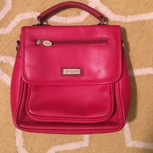Vintage cherry red Liz Claiborne bag