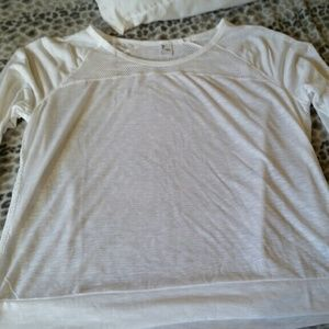 Old Navy Tops - White gym top