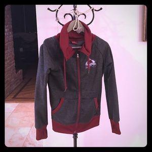 Colosseum Jackets & Blazers - Cozy Colorado Avalanche fleece lined jacket