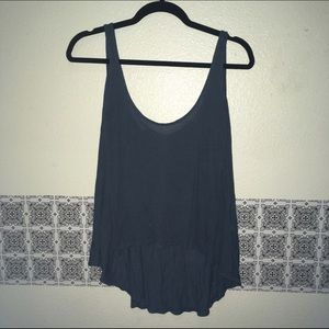 Foreign Exchange Tops - Modal Tank top navy sleeveless soft!