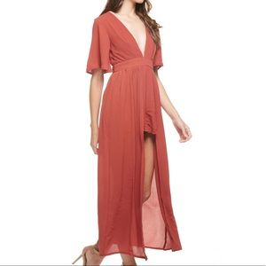 Vici Collection Dresses & Skirts - Romper Maxi! Brighter than image!