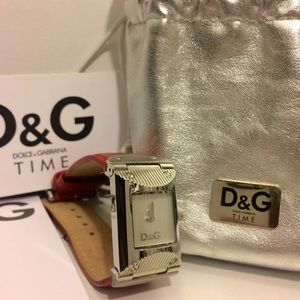 D&G Accessories - D&G Leather wristband watch