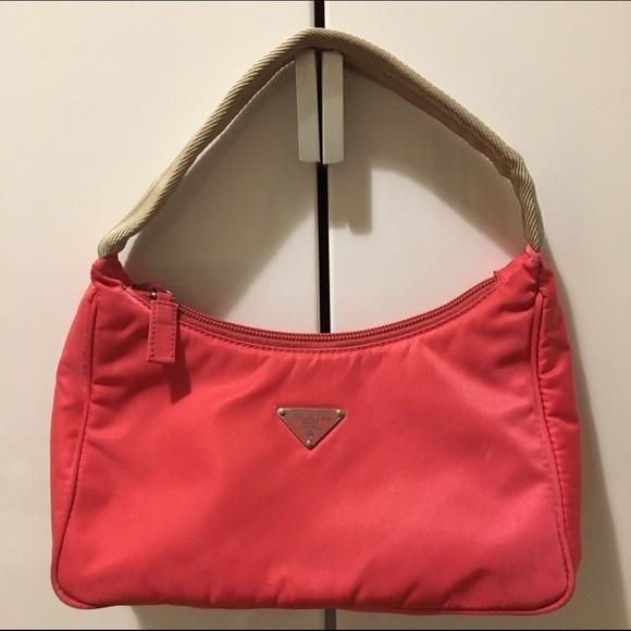 7808fe391f59 Prada Tessuto Sport Mini Handbag - Hot Pink. M 5857a91df739bc20fe025e46