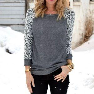 Price NWOT - Luxe French Terry Sweatshirt