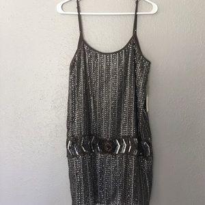 Metallic dress -obo-