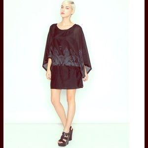 Miilla Clothing Dresses & Skirts - MIILLA Round Neck Kimono Dolman Slip Dress NWT