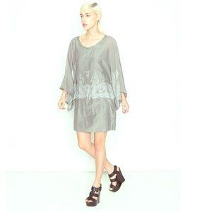 Miilla Clothing Dresses & Skirts - MIILLA Round Neck Dolman Kimono Slip Dress NWT