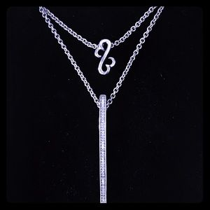 Kay Jewelers Jewelry - Diamond Accent Double Strand Necklace- New in box