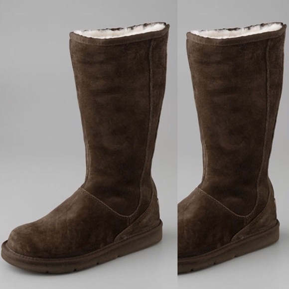 d1029256e05 UGG Sumner Zip up Tall Boot in Chocolate