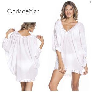 OndadeMar Other - Ondademar cotton gauze tunic - white