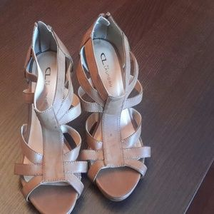 Chinese Laundry Shoes - Chinese Laundry High Heel Sandals with back zip