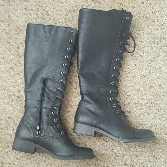 Rocket Dog Calypso military lace up boots