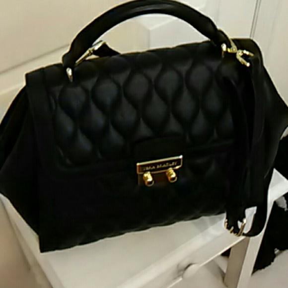 8a820463c8ad Quilted leather Vera Bradley Stella satchel. M 585807e378b31ca9940352dd