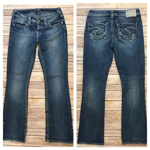 67% off Silver Jeans Denim - Silver Jeans Buckle Aiko Boot Cut 27 ...