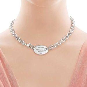 Authentic Tiffay&Co Chocker Necklace 