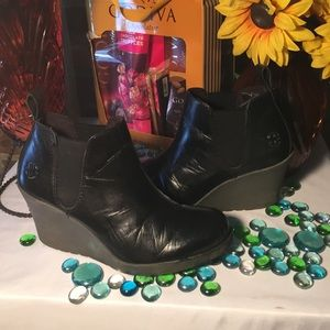 Dr. Martens Leather Booties