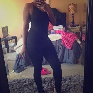 Cute black body suit!