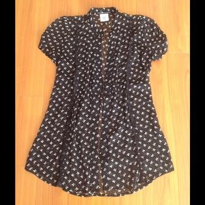 Love Squared Tops - Size S Sheer top with bows ... Never Worn !!
