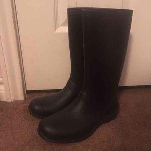 Shoes - Black rain boots