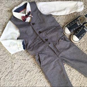 Gymboree Other - 🎉HPx2🎉Gymboree Vest/Pants Carter's Top/Bow Tie