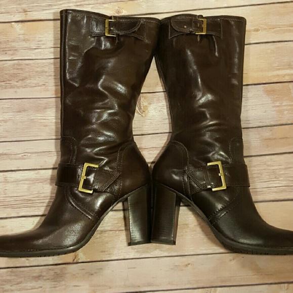 8e2391ab2e20 BP Shoes - BP Julius Lea Chocolate Brown Leather Boots 9.5