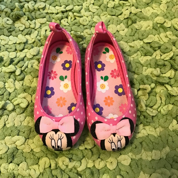 Toddler Minnie Mouse Ballet Flats Pink