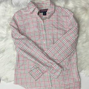 Vineyard Vines Tops - Vineyard vines Plaid women's Button down shirt