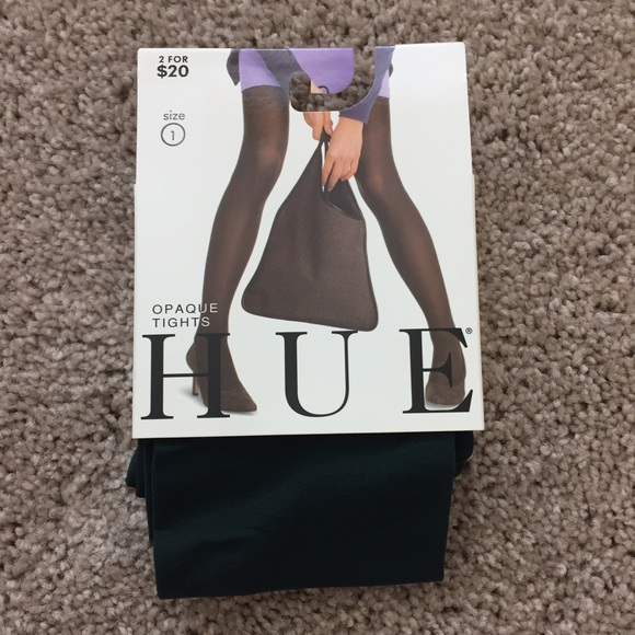 dfa5407f6 Hue Opaque Tights in Hunter Green