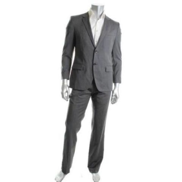 5abb433af Hugo Boss Suits & Blazers | James 4 Sharp 6 Gray Wool Suit 40 R 42 R ...