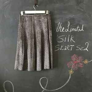 The Limited Dresses & Skirts - The Limited Black Silk Skirt Sz 2