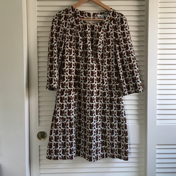 26490397a4e7f Boden Dresses & Skirts - Boden squirrel print corduroy dress