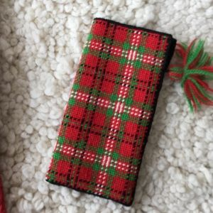 Accessories - Needlepoint glasses case