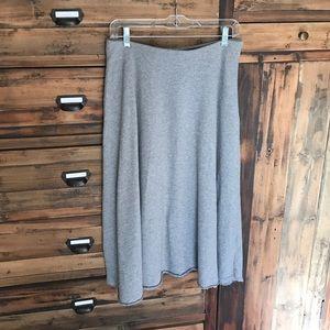 Zara Trafaluc Heather Grey Skirt - EUC