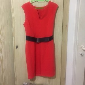 C.I. Castro Dresses & Skirts - Red neon dress