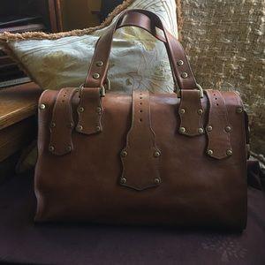 4bab942dc30 Mulberry Bags   Roxanne Authentic Oak Leather Satchel Bag   Poshmark