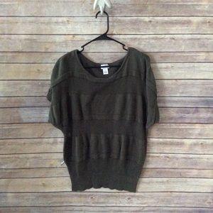 Sale Motherhood Maternity Green Sweater L