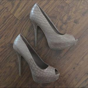 Peep Toe Heel