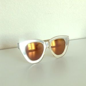 Karen Walker Accessories - Karen Walker Gold Limited Edition Sunglasses