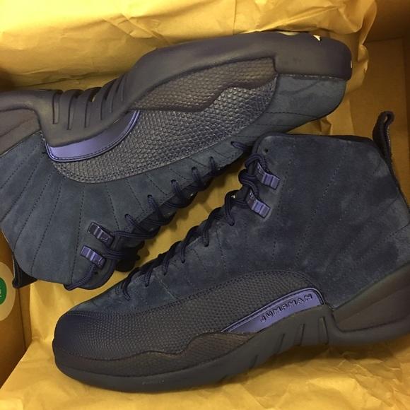Size 10 suede blue retro 12s 33024cb77