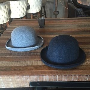100% Pure Virgin Wool Classic Bowler Hats L/XL