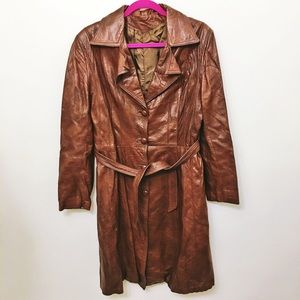 Jackets & Blazers - Brown Trench Coat