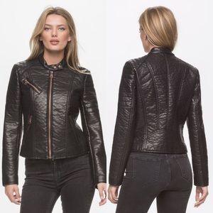Andrew Marc Jackets & Blazers - Marc New York NWT Vegan Leather Moto Jacket
