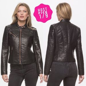 Andrew Marc Jackets & Blazers - Final Price Marc NewYork Vegan Leather Jacket