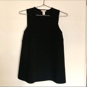 H&M Black Top Size 6