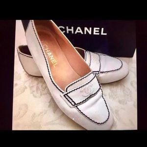 CHANEL Shoes - Authentic CHANEL soft leather Driving moccasins