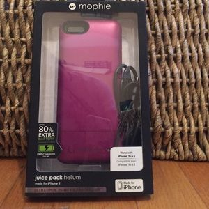 iPhone 5/5s Mophie Charging Phone Case