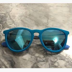 Ray-Ban Accessories - Ray-Ban 'Erika' Velvet Mirrored Sunglasses